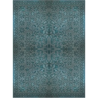 Epoch Vintage Wool Teal Area Rug