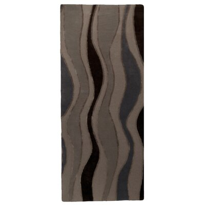 River Flow Purple Area Rug Rug Size: Runner 26 x 8
