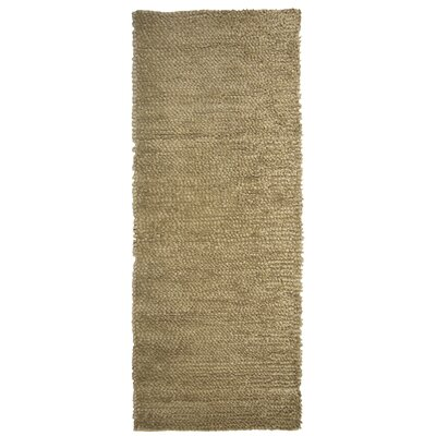 Saturn Wool Beige Area Rug Rug Size: Runner 2 x 8
