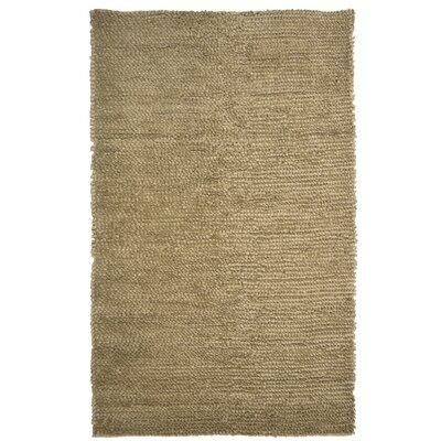 Saturn Wool Beige Area Rug Rug Size: 6 x 9