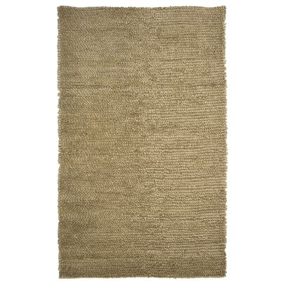 Saturn Wool Beige Area Rug Rug Size: 9 x 12