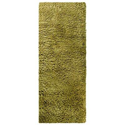 Saturn Wool Green Area Rug Rug Size: Runner 2 x 8