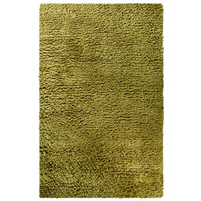 Saturn Hand-Woven Wool Green Area Rug Rug Size: 4 x 6