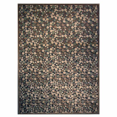 Downton Blue Indoor/Outdoor Area Rug Rug Size: 4 x 6
