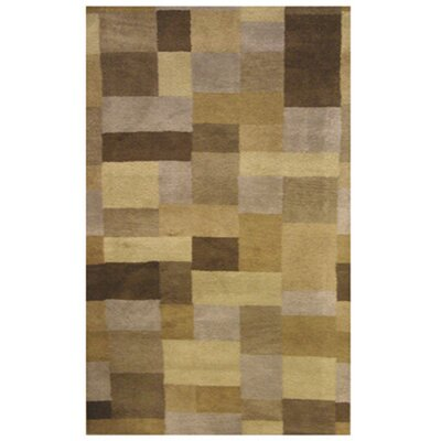 Madrid Wool Brown Area Rug Rug Size: 3 x 46