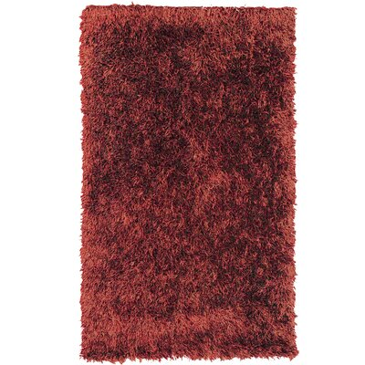 Dragonfly Pink Shag Area Rug Rug Size: 4 x 6