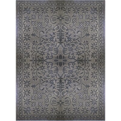 Epoch Vintage Wool Charcoal Area Rug Rug Size: 8 x 10