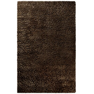 Saturn Wool Brown Area Rug Rug Size: 6 x 9