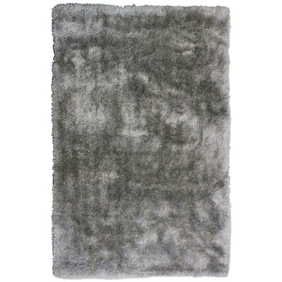 Tinsel Grey Shag Area Rug Rug Size: 3 x 46