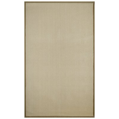 Marica Synthetic Sisal Gold Area Rug Rug Size: 8 x 10