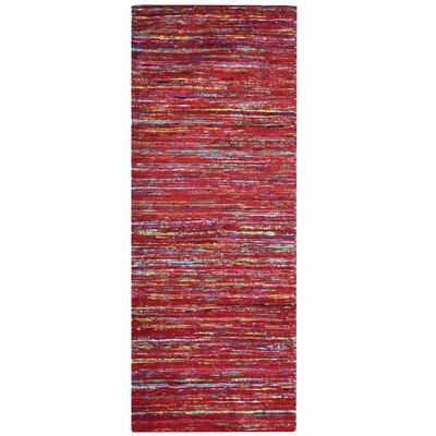Sari Tandoori Red Area Rug Rug Size: Runner 2 x 8