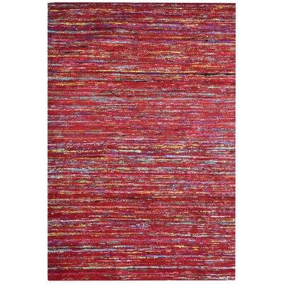 Sari Tandoori Red Area Rug Rug Size: 8 x 10