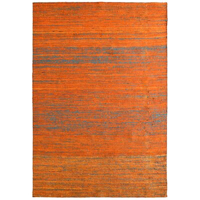 Sari Marigold Hand Woven Area Rug Rug Size: 8 x 10