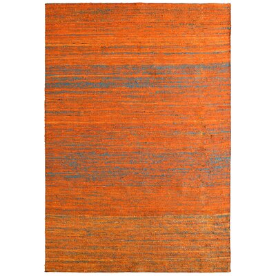 Sari Marigold Hand Woven Area Rug Rug Size: 9 x 12