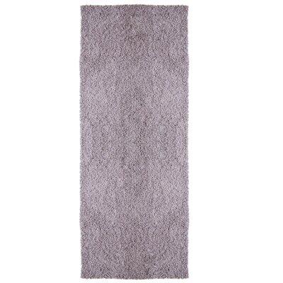 Modern Purple Shag Area Rug Rug Size: Runner 2' x 8'