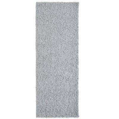 Modern Grey Shag Area Rug Rug Size: Runner 2 x 8