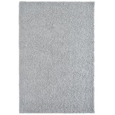 Modern Grey Shag Area Rug Rug Size: 8 x 10