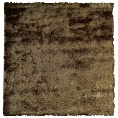 Moonlight Path Brown/Beige Area Rug Rug Size: Square 5