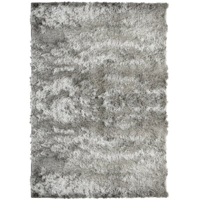 Moonlight Path Grey Area Rug Rug Size: 6 x 8