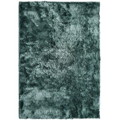 Moonlight Path Hand-Tufted Blue Area Rug Rug Size: 9 x 12