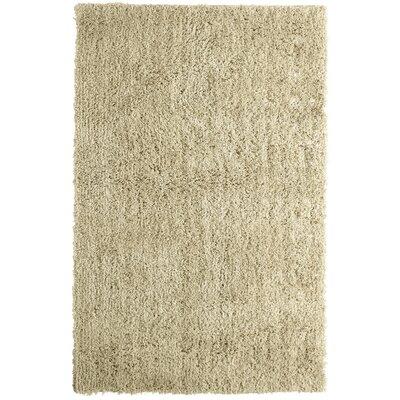 Soft Shag Sand Beige Area Rug Rug Size: 9 x 12