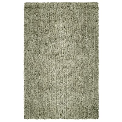 Soft Shag Grey Area Rug Rug Size: Square 5
