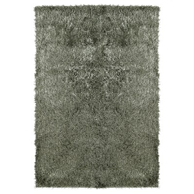 City Shag Hand-Tufted Gray Area Rug Rug Size: 4 x 6