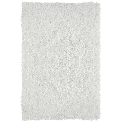 City Shag White Area Rug Rug Size: 6 x 9