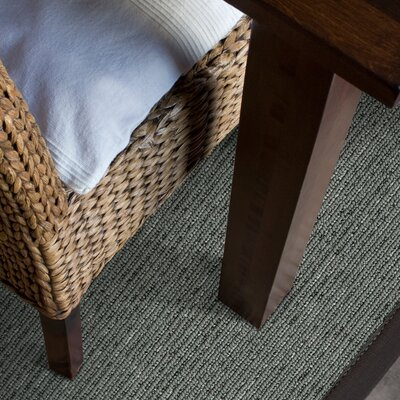 Marica Synthetic Sisal Charcoal Area Rug Size: 9 x 12