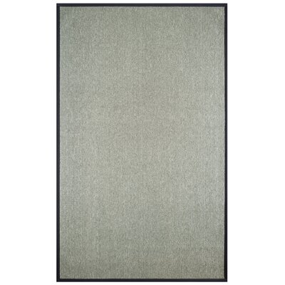 Marica Synthetic Sisal Gray Area Rug Size: 4 x 6