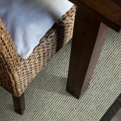 Marica Synthetic Sisal Gray Area Rug Size: 8 x 10