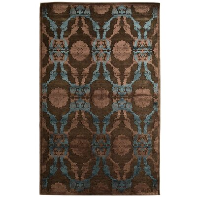 Monet Brown Area Rug Rug Size: 5 x 76