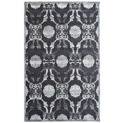 Monet Grey Area Rug Rug Size: 4 x 6