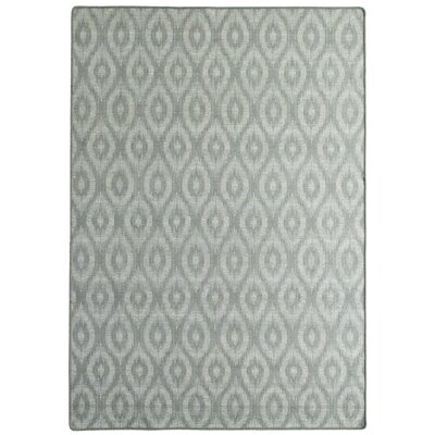 Intuition Ikat Grey Area Rug Rug Size: 5 x 7