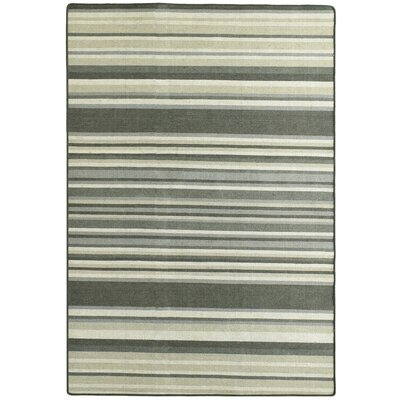 Intuition Stripe Area Rug Rug Size: 4 x 6