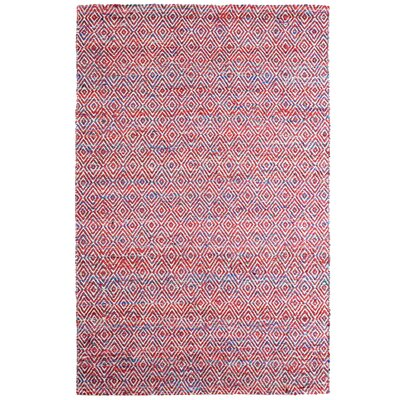 Agrippa Festival Red Area Rug Rug Size: 4 x 6