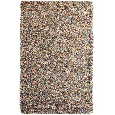 Carida Fiesta Brown/Green/Brown Area Rug Rug Size: 5 x 7