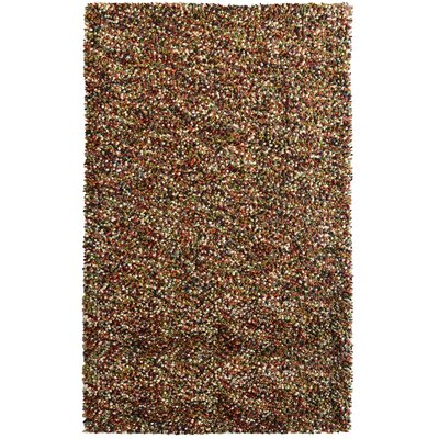 Carida Spice Hand Woven Purple/Green/Beige Area Rug Rug Size: 6 x 9
