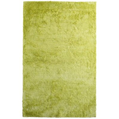 Fur Green Area Rug Rug Size: 5 x 8