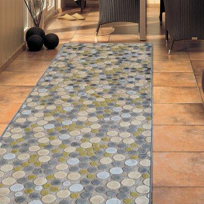 Downton Grey Indoor/Outdoor Area Rug Rug Size: 4 x 6