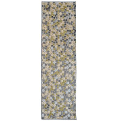 Downton Gray Indoor/Outdoor Area Rug Rug Size: Runner 26 x 8