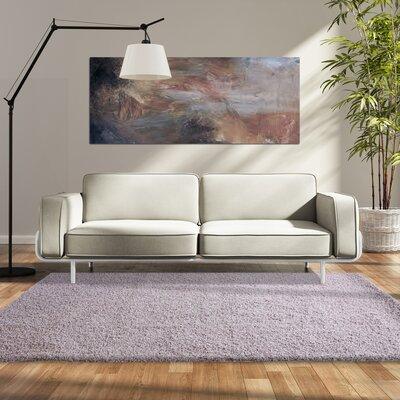 Modern Shag Purple Area Rug Rug Size: 8 x 10