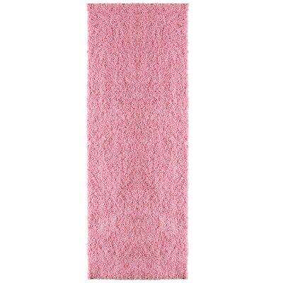 Modern Shag Flamingo Area Rug Rug Size: Runner 26 x 8