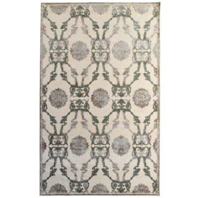 Monet Ivory Area Rug Rug Size: Rectangle 4 x 6