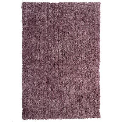 Downy Purple Shag Area Rug Rug Size: 5 x 76