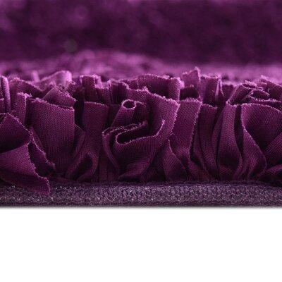 Petal Shag Purple Area Rug Rug Size: 8 x 10