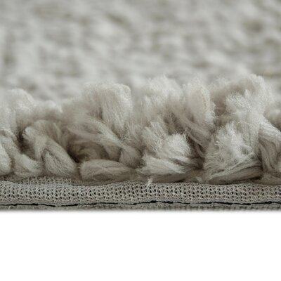 Downy Shag Silver Area Rug Rug Size: 8 x 10