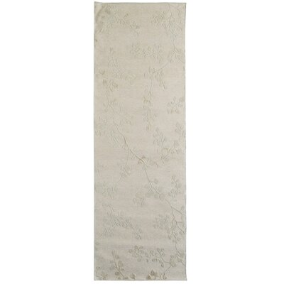 Merengue Ivory Area Rug Rug Size: Runner 2 x 8