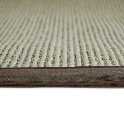 Better Than Sisal Brown Area Rug Rug Size: 4 x 6