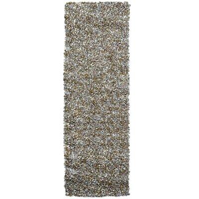 Carida Natural Hand Woven Purple/Beige/Green Area Rug Rug Size: Runner 26 x 8